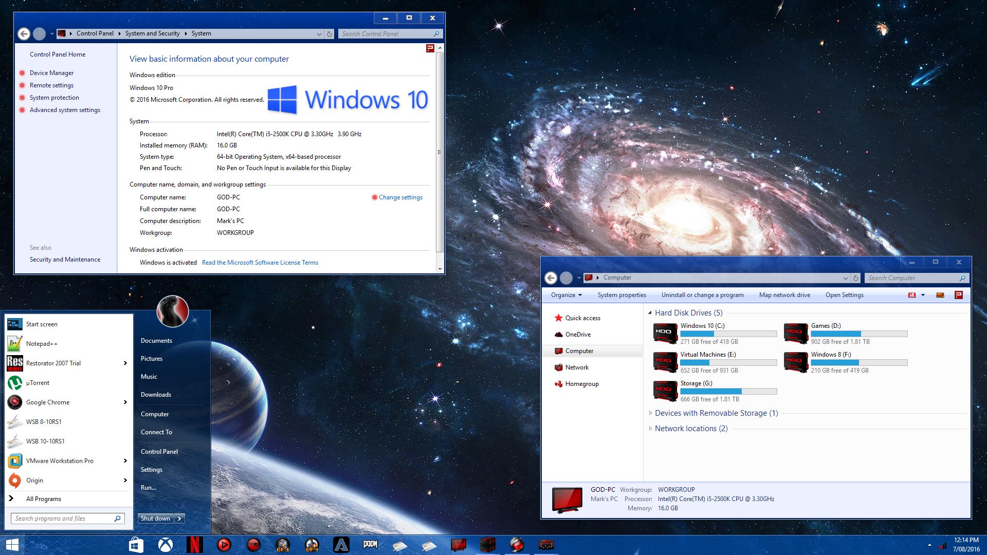 Aero Frost for Windows 10 Build 1903-21h2
