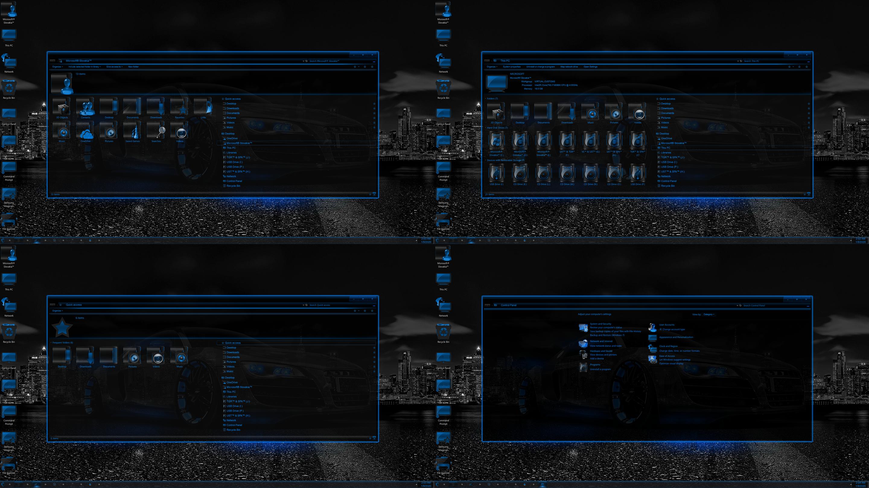 Blue Neon for Windows 10 Build 1903-21h2