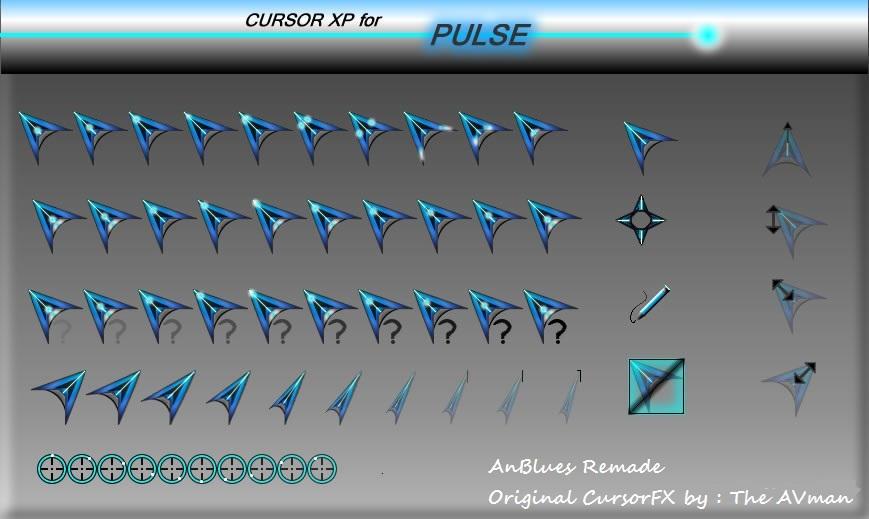 X-Ninja Cursor Pack