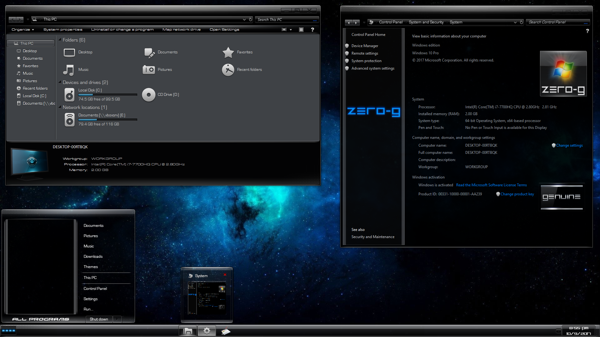 TUF Covert Ops for Windows 10 Build 1903-21h2